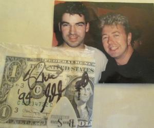 Me and Brian Setzer 1994